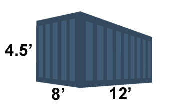 15 yard container from Ravenswood Services